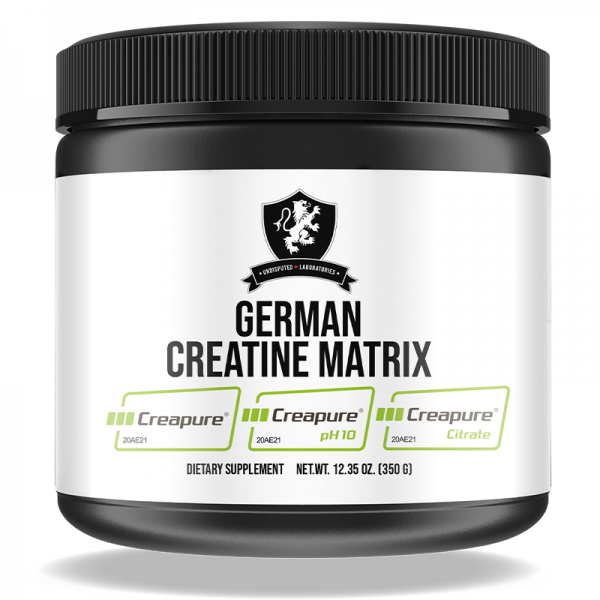 Undisputed Laboratories German Creatine Matrix