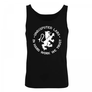 Undisputed Muscle Shirt Black