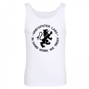 Undisputed Muscle Shirt white